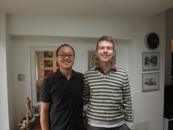 Chris and Me, from the Islington Now website
